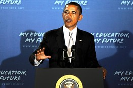 President Obama supports extending the school year.