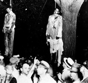 The lynching of Thomas Shipp and Abram Smith (Marion, Indiana)