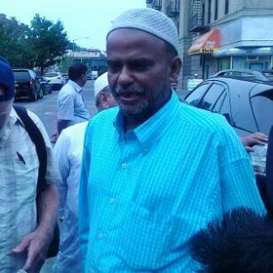 Parkchester resident and Bangladeshi immigrant, Nur Nabi. Days ago, Mr. Nabi was stabbed after leaving his mosque.