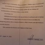 20140815_Judge John W Carter-decision